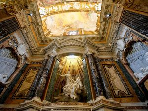 Dazzling chapel in Rome even brighter after restoration