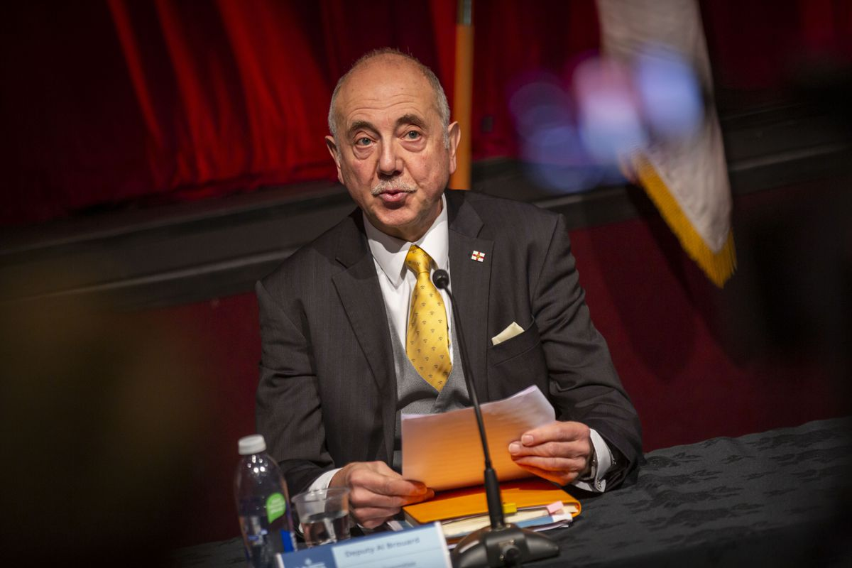 HSC president Deputy Al Brouard. (Picture by Sophie Rabey, 29666236)