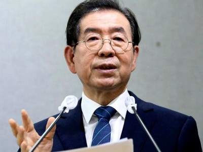 Seoul mayor reported missing with searches under way