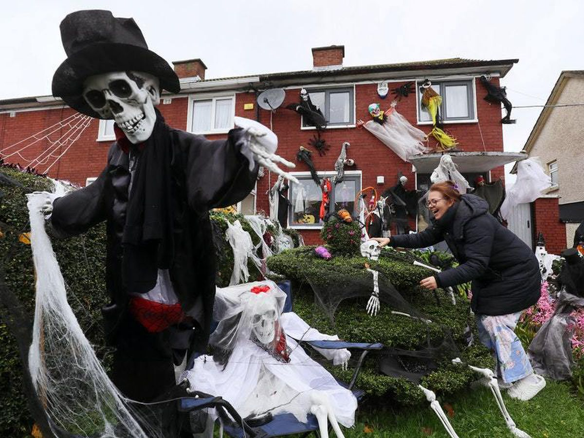 Mother turns home into haunted house to raise funds for charity