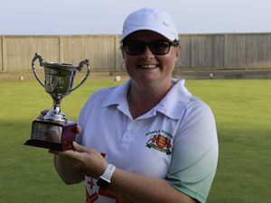 Lucy Beere 2021 Bowls Guernsey player of the year. (Picture supplied, 29956953)