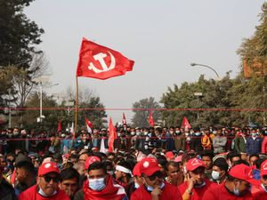 Tens of thousands protest in Nepal over dissolution of parliament