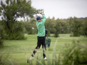 Picture By Peter Frankland. 12-07-21 Golf at La Grande Mare. Island Seniors Ladies Championships. Veronica Bougourd.. (29756735)