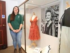 Olivia De Havilland's Dior dresses go on display