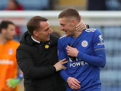 Brendan Rodgers hails Jamie Vardy as one of the best strikers in Europe