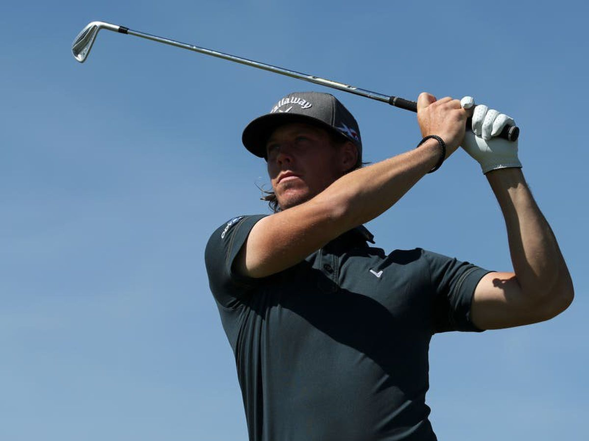 Sweden's Kristoffer Broberg holds a narrow halfway lead in the Dutch Open