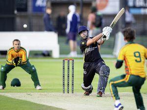 Guernsey Evening League Cricket - Irregulars v Griffins T20 at KGV. Damian Wallen.Picture by Martin Gray, www.guernseysportphotography.com, 28-07-21. (29812648)