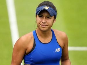 Heather Watson suffered defeat on her return to WTA action this week. (28568785)