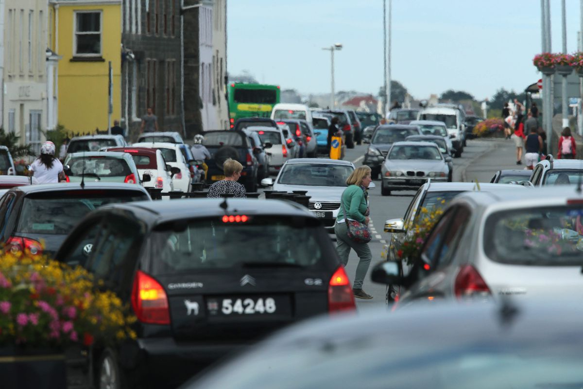 Glategny Esplanade has been confirmed as the busiest road into and out of Town for all forms of traffic with St Julian's Avenue the next busiest. (29811273)