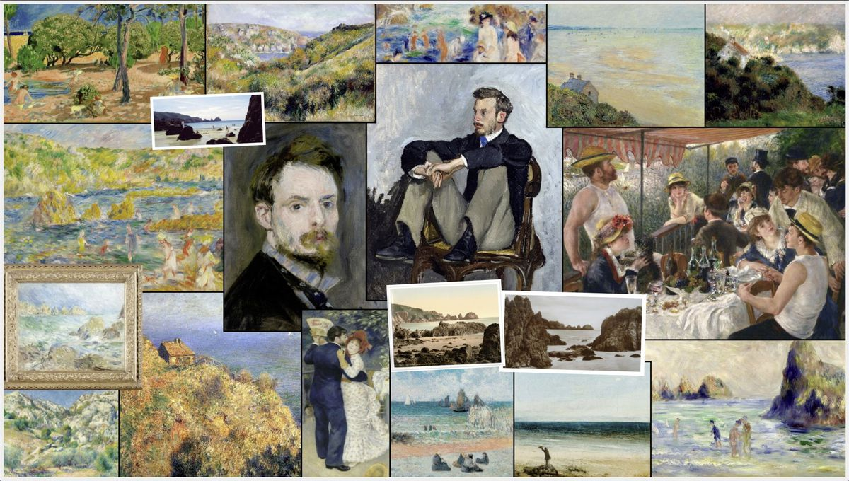 World-famous paintings are coming to Guernsey with a 2023 Renoir exhibition organised by Art for Guernsey in partnership with the Museum of Impressionism Giverny. (29997982)