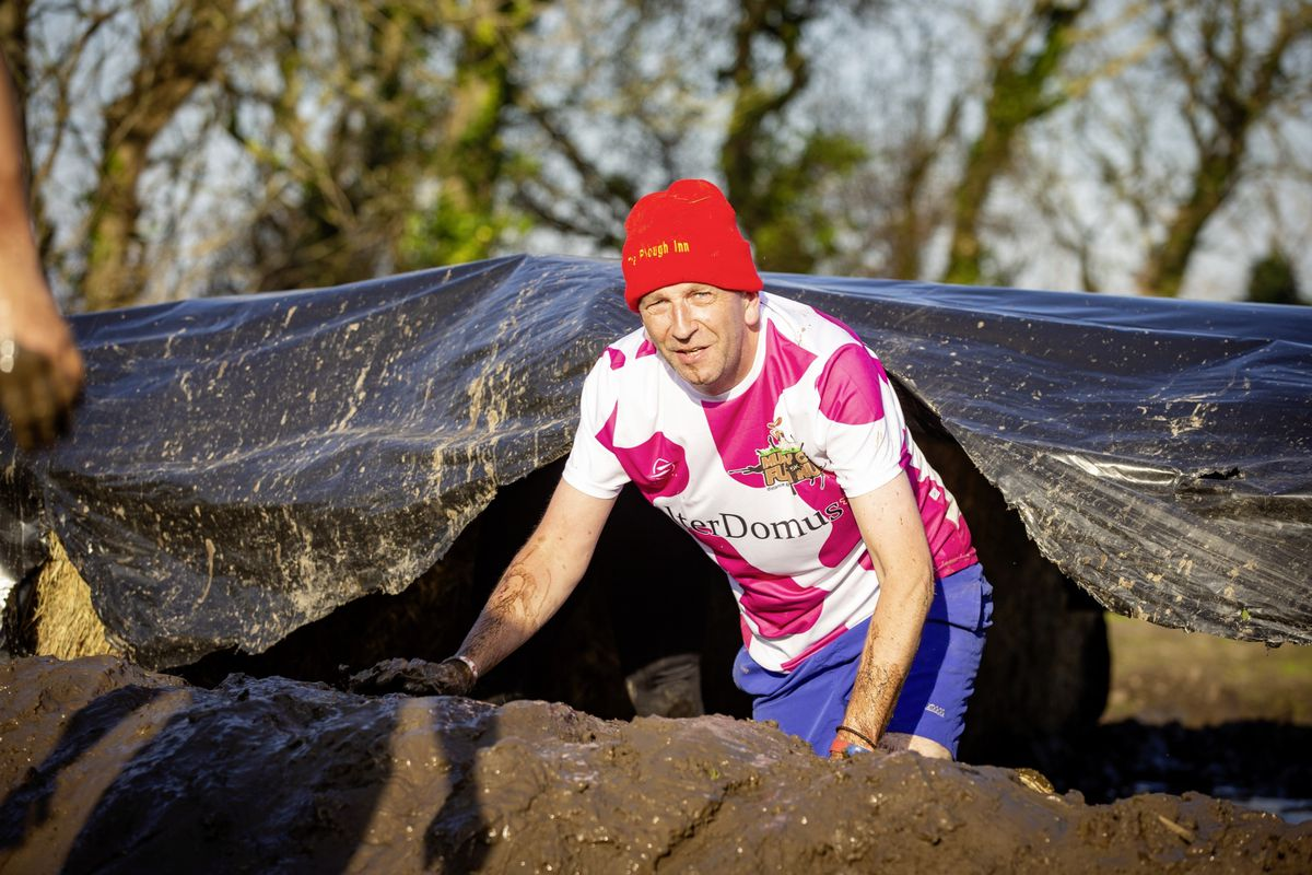 Picture by Sophie Rabey.  29-11-20. Muddy Cow Fun Run Vazon/Grande Mare. Richard Skipper (28963026)