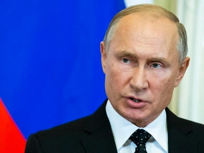Vladimir Putin in warning to Israel after Russian military plane downed by Syria