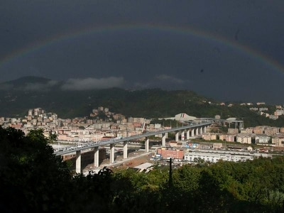 New Genoa bridge inaugurated despite boycott by victims' families