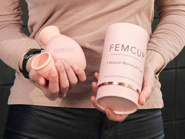 Ex-fitness instructor launches menstrual cup with women's charities pledge