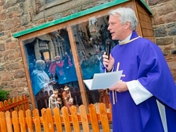Church Square nativity scene receives blessing