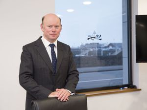 Guernsey Financial Services Commission director-general William Mason. (Picture by Adrian Miller, 29030954)