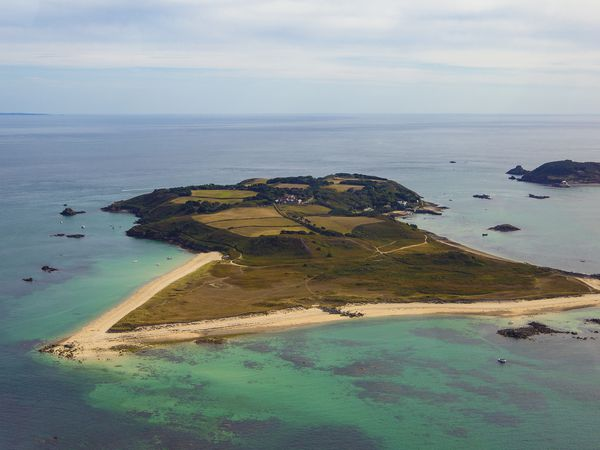 Picture By Peter Frankland. 11-09-18 Generic Herm and Jethou aerial pics.. (29990464)