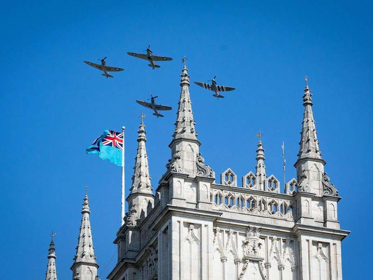 In Pictures: 80th anniversary of Battle of Britain marked in small ceremony