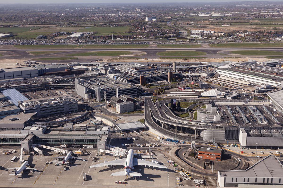 London Heathrow airport. (Shutterstock)