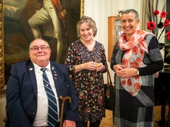 Reception held to thank poppy sellers