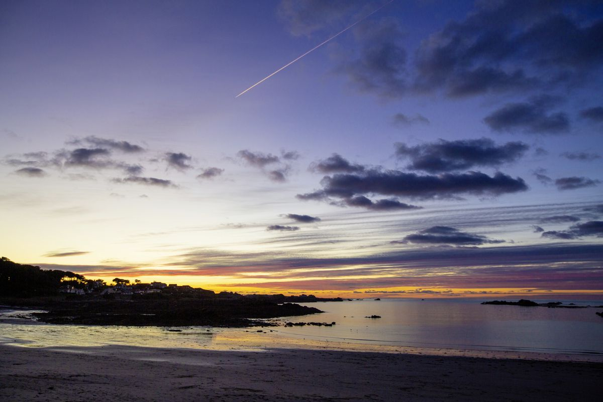Cobo at sunset. (Picture by Sophie Rabey, 26966660)