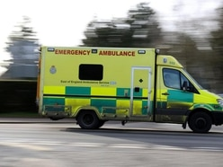 15 people treated by paramedics after two-vehicle crash