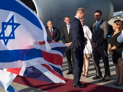William carries out first official royal visit to Israel