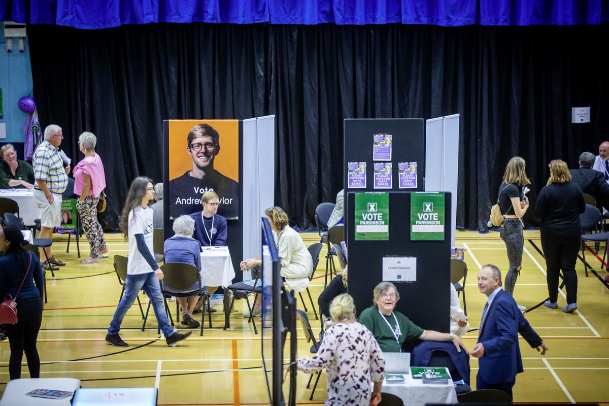 Picture by Sophie Rabey.  20-09-20.  Meet the Candidates Event at Beau Sejour, drop-in with 116 of those who are standing in Guernsey's first island wide election.. (28708651)