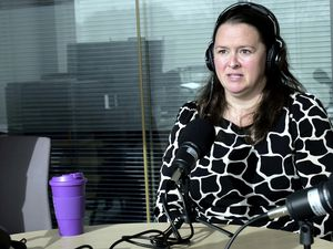 Guernsey Raiders Rugby Club co-chair Andrea Harris as a guest on the Guernsey Press Sports Podcast. (Picture by Gareth Le Prevost, 29370570)