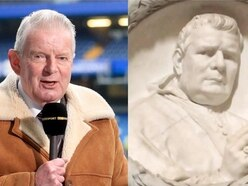 Football Twitter goes wild for cathedral bust that looks like John Motson