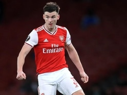 Arsenal's Kieran Tierney delights fans with Tesco bag for life