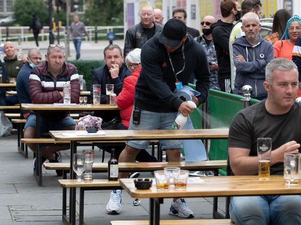 Pub gardens, outside dining and haircuts return in lockdown easing for England