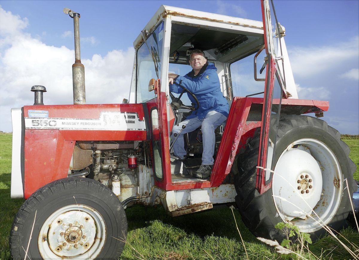 Landowner Peter Allen. (Picture by David Nash, 28879520)