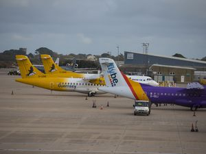 Guernsey Airport has seen an increase of 11,000 passengers in the first five months of 2019. (Picture by Peter Frankland, 24976205)