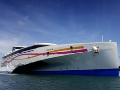 Fast ferry sailings suspended until end of April
