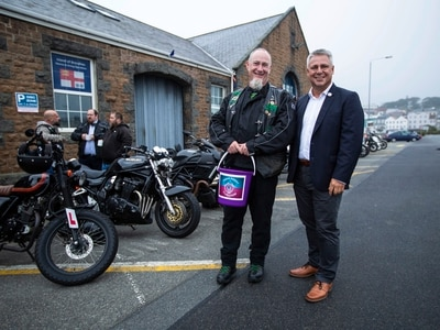 Priaulx Premature Baby Foundation benefits from last charity bike night of the year
