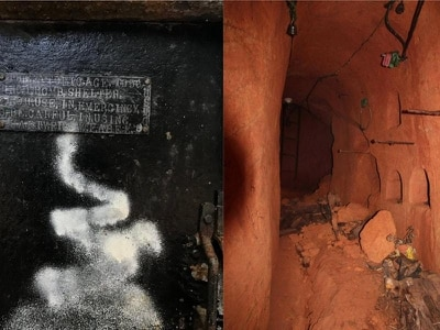 Realtor posts amazing pictures of atomic bomb shelter found in house for sale