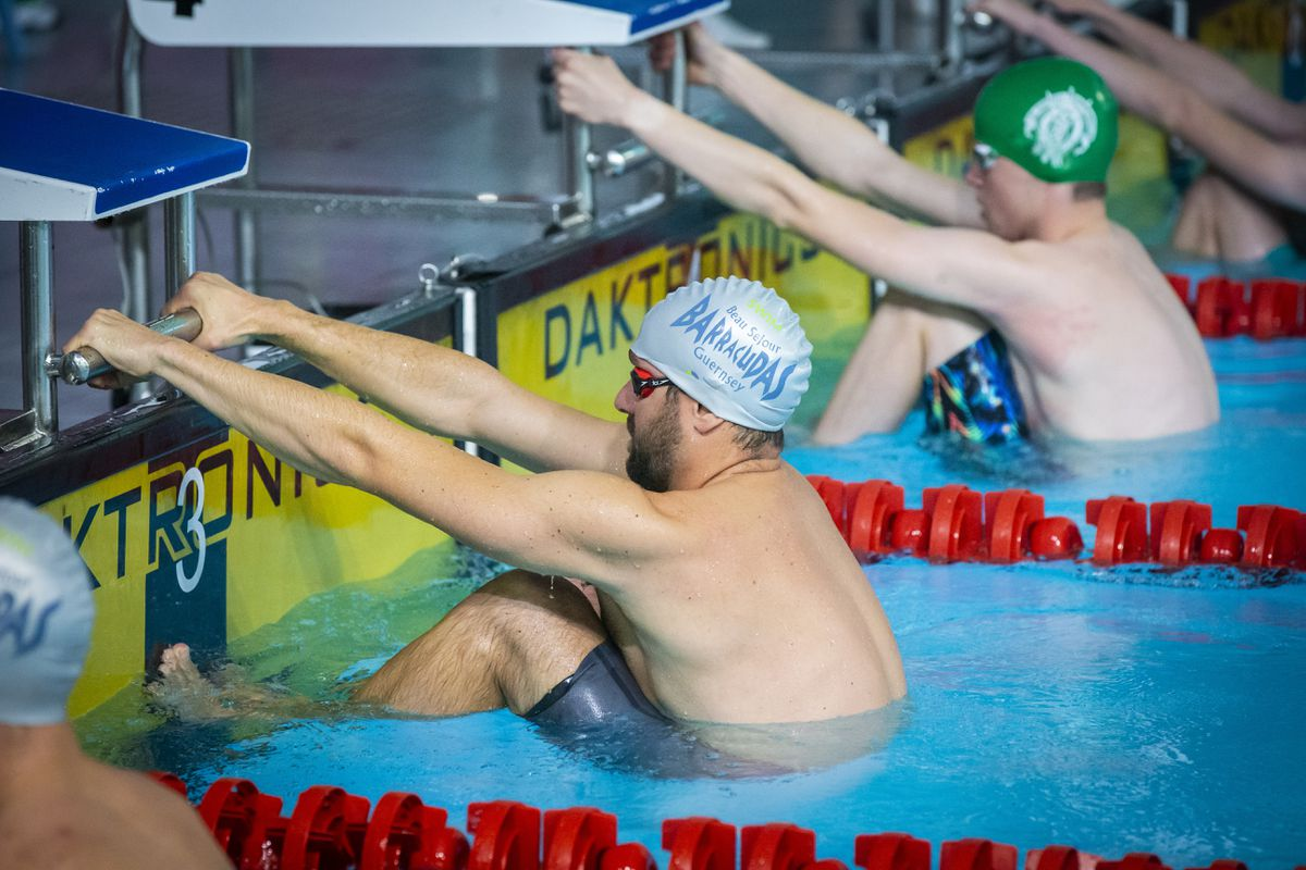 Tom Hollingsworth has his sights set on the Birmingham 2022 Commonwealth Games following the postponement of the Guernsey 2021 NatWest International Island Games, which was set to be his swimming swansong. (Picture by Sophie Rabey, 28948852)