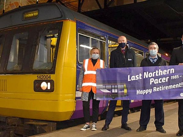 Northern rail network makes final Pacer train journey