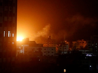 Fighting between Israel and Gaza enters a second day