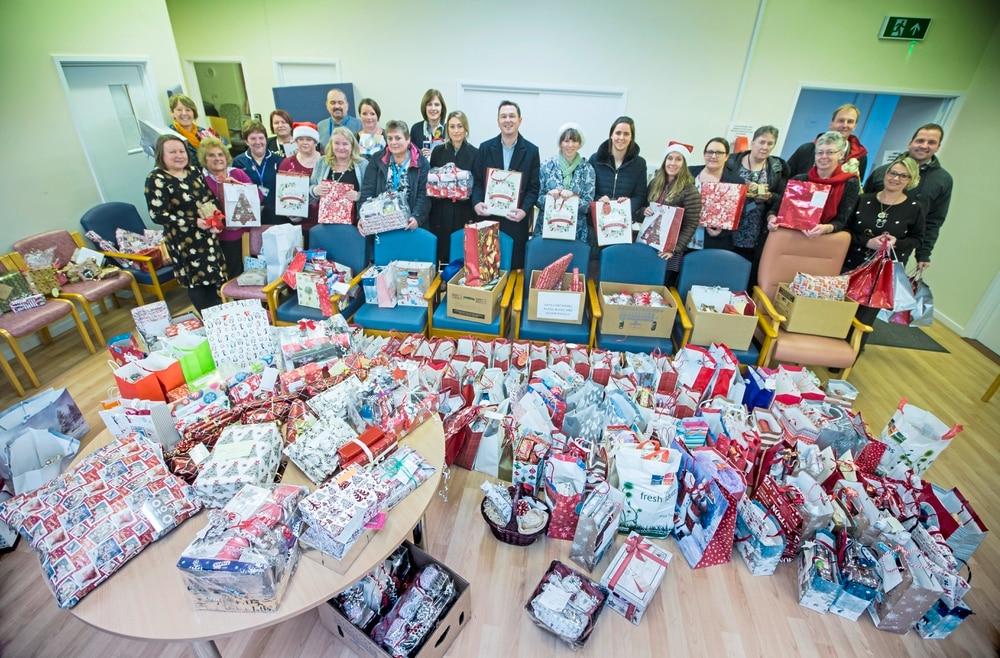 Businesses Join Forces For Gifts For Elderly Disabled Guernsey Press