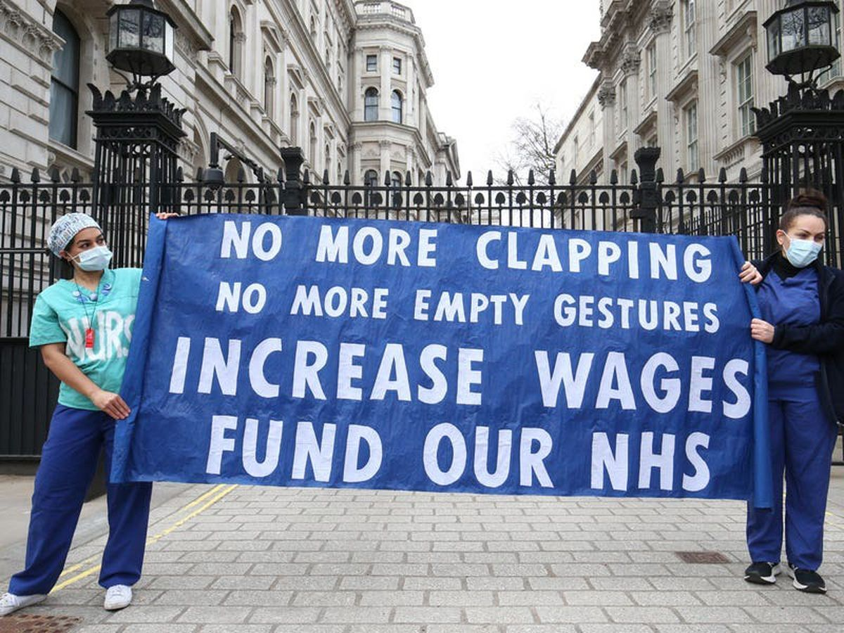 Anger over lack of announcement on NHS pay