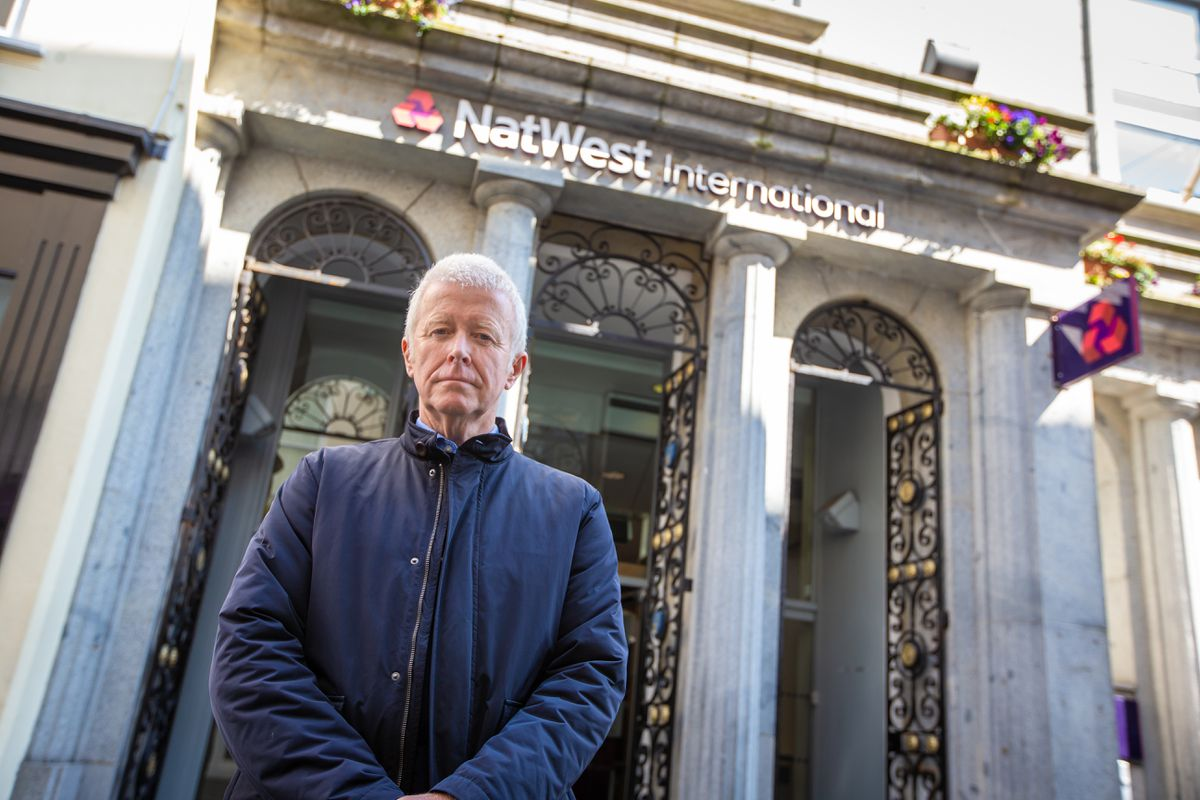 Peter Rose, the head of the AGC vice-chairman of the Association of Guernsey Charities, has welcomed the move by NatWest to delay charging charities but said the association would have preferred for the bank to have shifted away from charging charities at all. (Picture By Peter Frankland29552987)