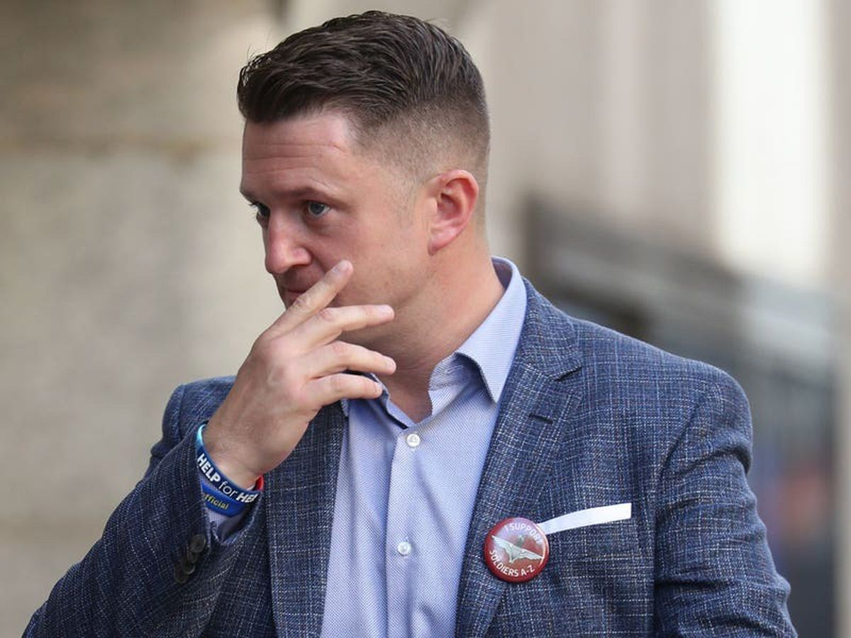Tommy Robinson ordered to pay £100,000 to Syrian schoolboy after libel case loss