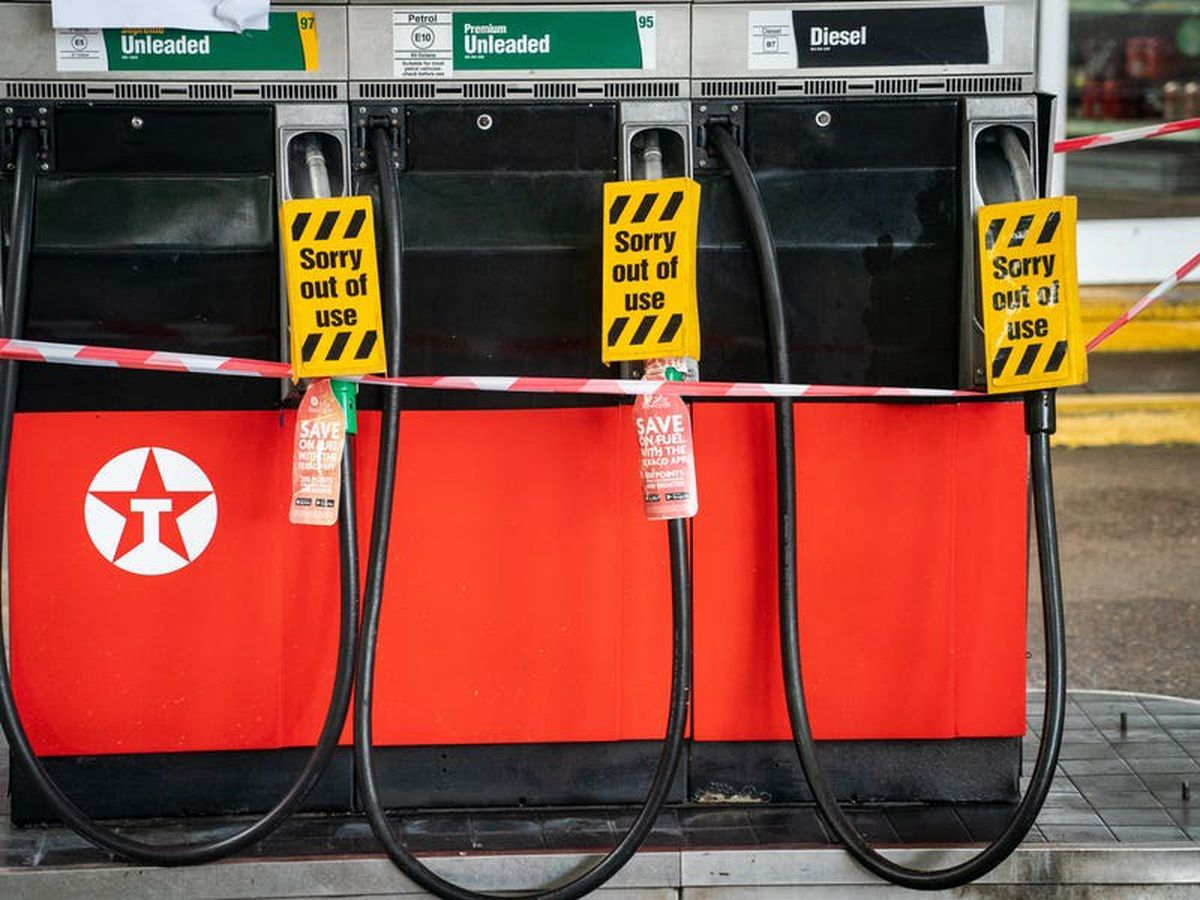 Fuel supplies lower in London and the South East than rest of country