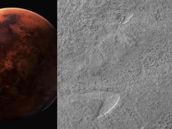 Nasa makes Star Trek joke after finding 'dune footprint' on Mars