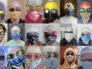 Beau Sejour Barracudas have been running a Masked Swimmer competition on Facebook while they are not able to train due to Covid-19 restrictions.