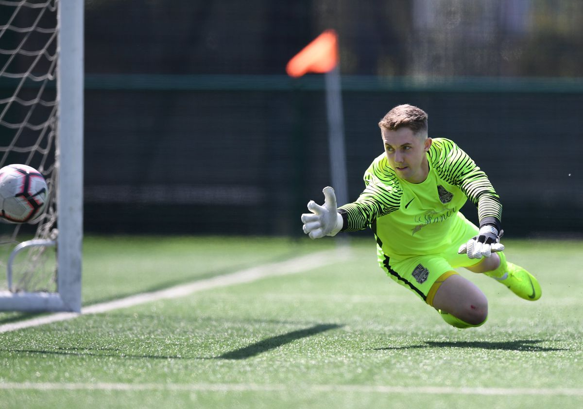 Back for the North game tonight: Keeper Jason Martin. (28940388)