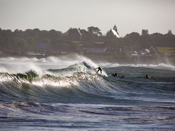 Vazon Bay is the most popular area for surfing in Guernsey. (Picture by Peter Frankland, 29440902)