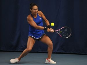 Heather Watson is lining up in The Battle of the Brits again. (Picture by B&O Press Photo)